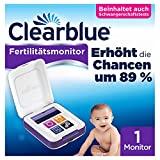 Clearblue Kinderwunsch Fertilitätsmonitor: Zykluscomputer zum Testen auf Eisprung und Schwangerschaft. Erhöht nachweislich die Chancen, auf natürliche Weise schwanger zu...*