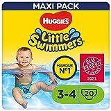 Huggies Little Swimmers Schwimmwindeln, Gr.3/4 (7 - 15 kg), 1 Packung mit 20 Stück