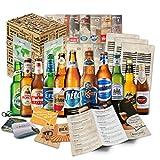 12 Biere der Welt Geschenkset mit Verkostungsanleitung