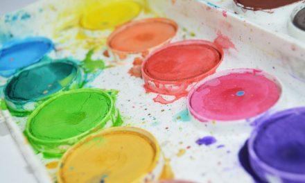 Herzige Idee für den Kindergeburtstag: Kreative Kunst fürs Kinderzimmer
