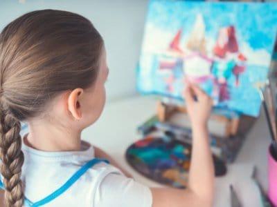 Kunst fürs Kinderzimmer: Kreativer Kindergeburtstag