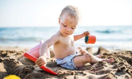 Matschen, Kritzeln, Spielen: Drei Worte die alles über die Lieblingsbeschäftigungen kleiner Kinder aussagen