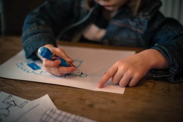 Linkshänder im Kindergarten