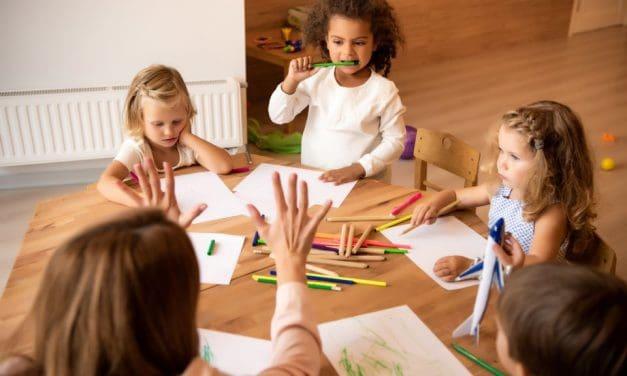 Vorschularbeit im Kindergarten