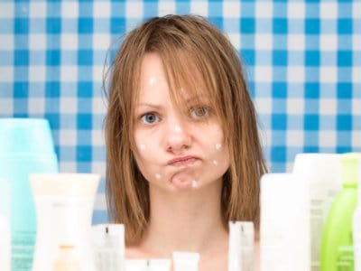 Hautunreinheiten in der Pubertät