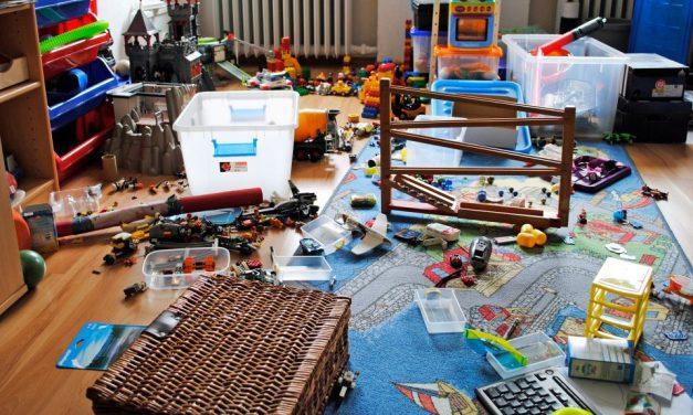 Aufräumen mit Kindern: 5 Tipps gegen das Chaos im Kinderzimmer