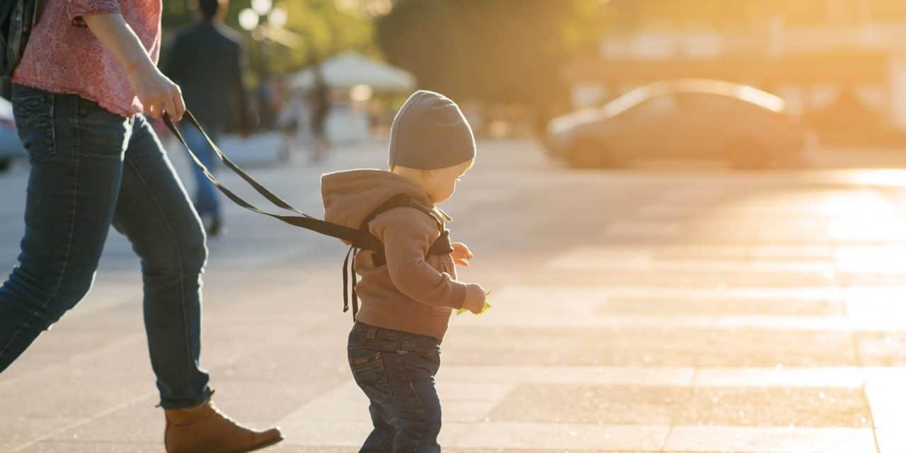 Der Laufgurt für Kinder: Eine Frage der Sicherheit