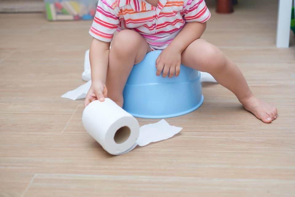 Das Töpfchentraining: Ab dem 27. Lebensmonat werden Kinder schneller trocken