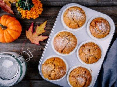 Rezept für saftige Kürbis-Muffins