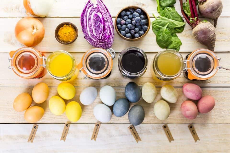 Ostereierfarben selbst gemacht: Unbedenklich & originell