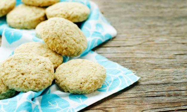 Lecker für Zwischendurch: Hafer-Bananen Kekse
