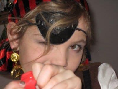 Schminkanleitung Pirat