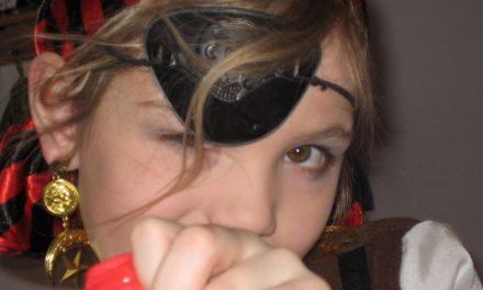 Schminkanleitung: Pirat