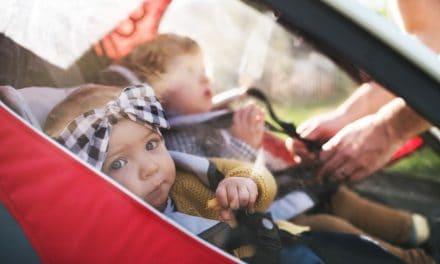 Geschwisterwagen: Unterwegs mit zwei Kindern unter drei