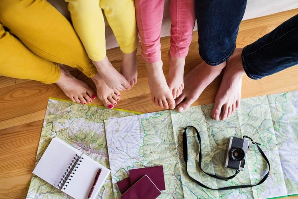 Gut vorbereitet in den Familien Urlaub