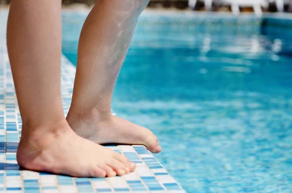 Dellwarzen oder Schwimmbadwarzen bei Kindern