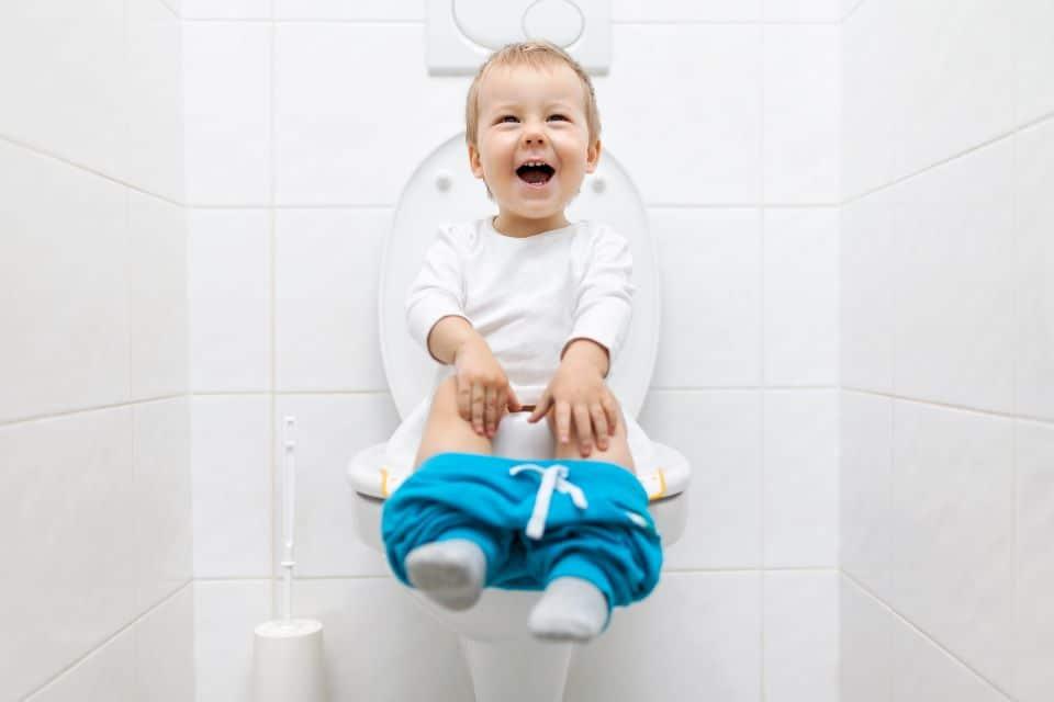Töpfchen oder Toilette?