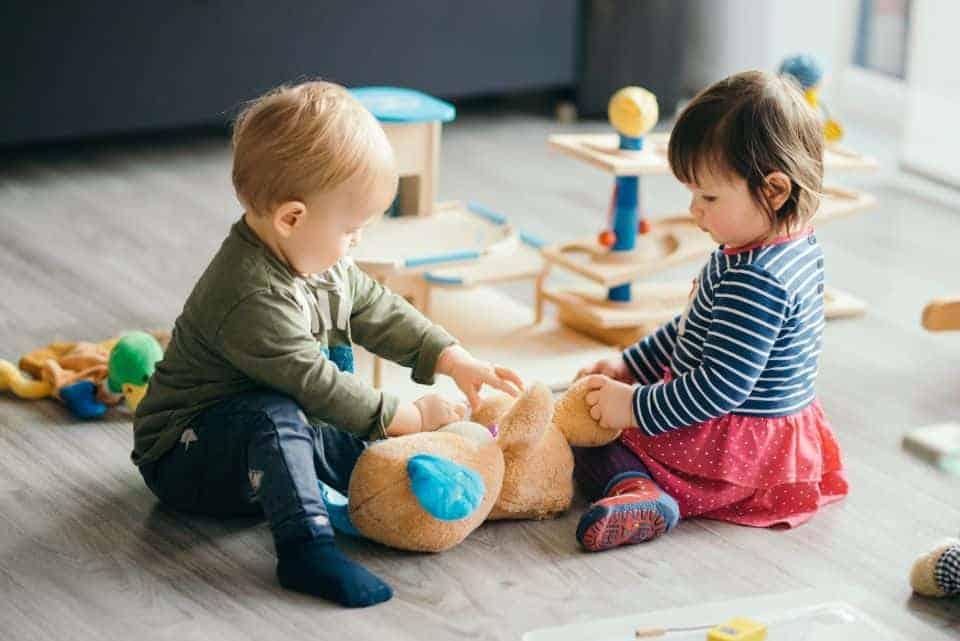 Erste Spielverabredung unter Kindern