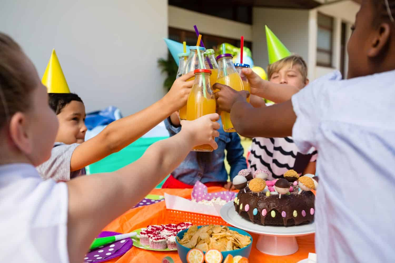 Das richtige Essen zum Kindergeburtstag