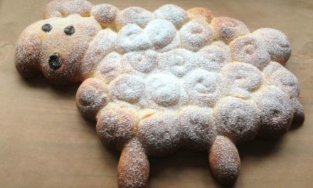 Backen für Ostern: Osterlamm