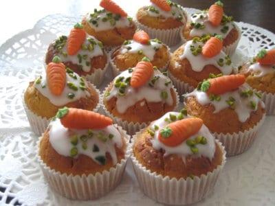 Backen für Ostern: Rübli-Muffins