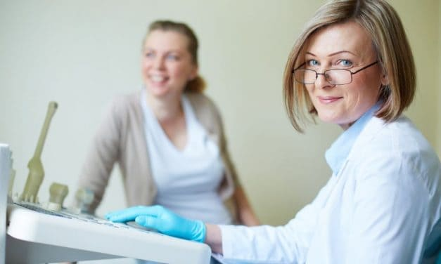 Schwangerschaftstest beim Arzt