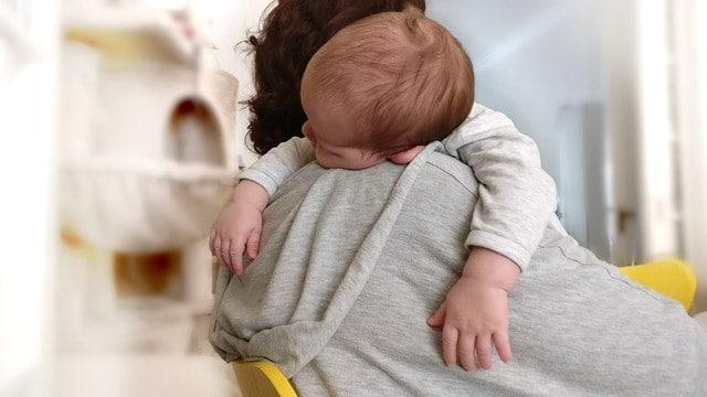 Wenn das Baby Schnupfen hat