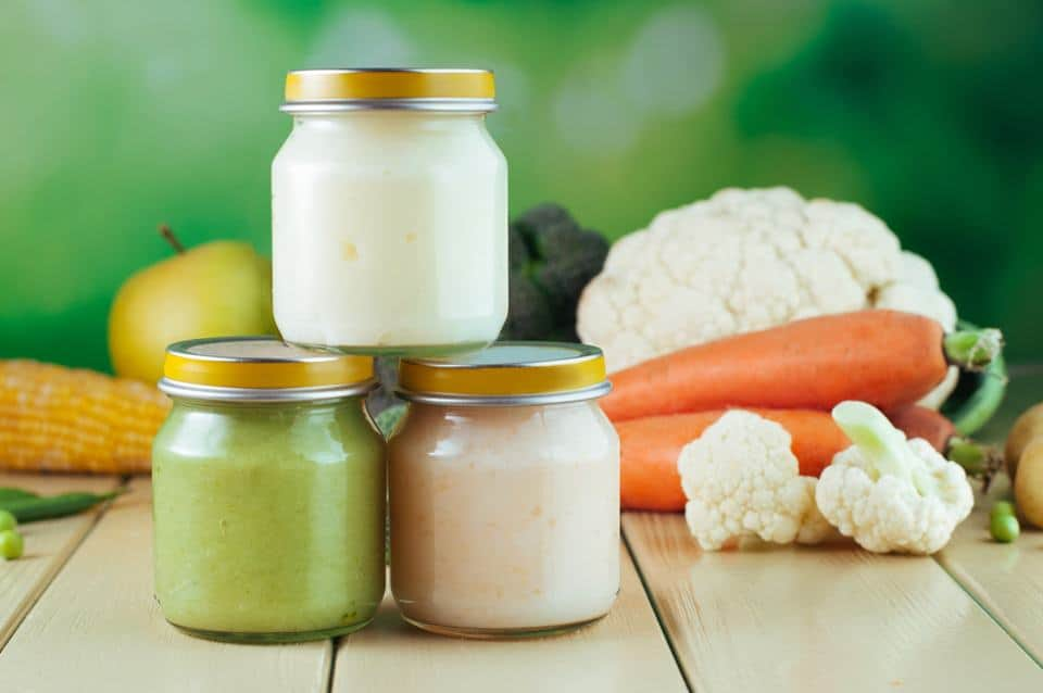 Beikost ab 10. Monat: Kartoffeln mit Blumenkohl-Hackfleisch-Bechamel