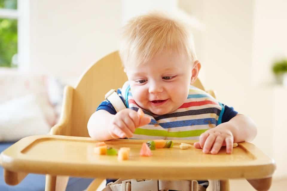 Fingerfood für Babys vermeidet späteres Übergewicht