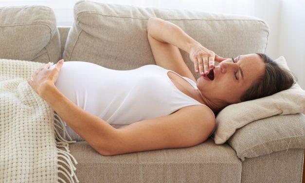 Müdigkeit in der Schwangerschaft