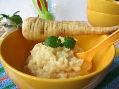 Pastinakenbrei: Gesunde Beikost für Ihr Baby. Pastinake als Alternative zu Karotten.