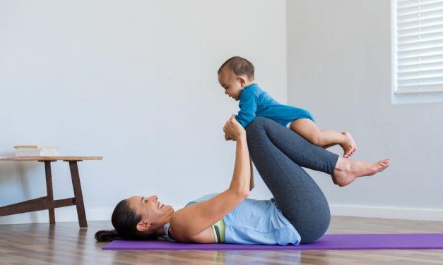 Pflichttermin nach der Geburt: Rückbildungsgymnastik