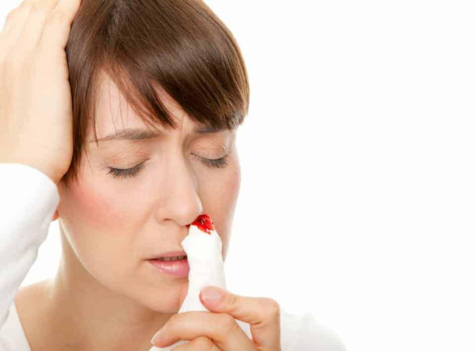 Nasenbluten in der Schwangerschaft