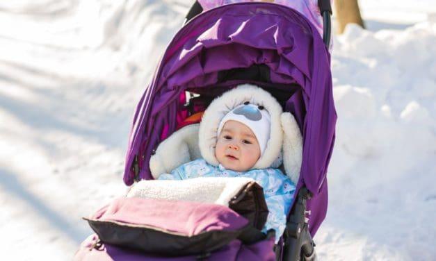 Kinderwagenmuff: Nie mehr kalte Hände