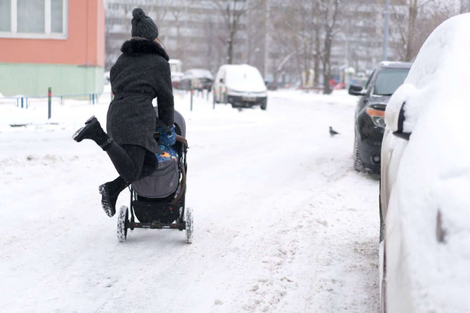 Kinderwagenmuff: Nie mehr kalte Hände. Kinderwagenhandschuhe