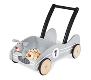 Lauflernhilfe mit gummierten Holzrädern, für Kinder von 1 – 6 Jahren