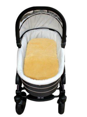 Heitmann Baby-Lammfell für den Kinderwagen