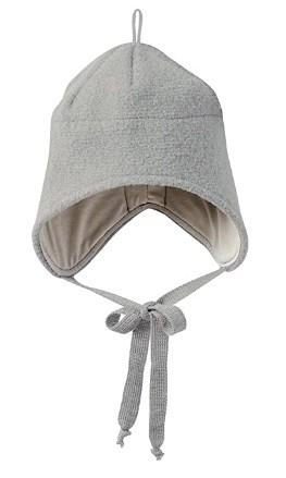 Walk-Mütze Wolle grau